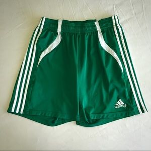 Adidas Green Athletic Shorts